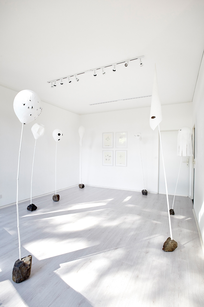 FAREWELL TO THE ILLUSORY WORLD / installation view
