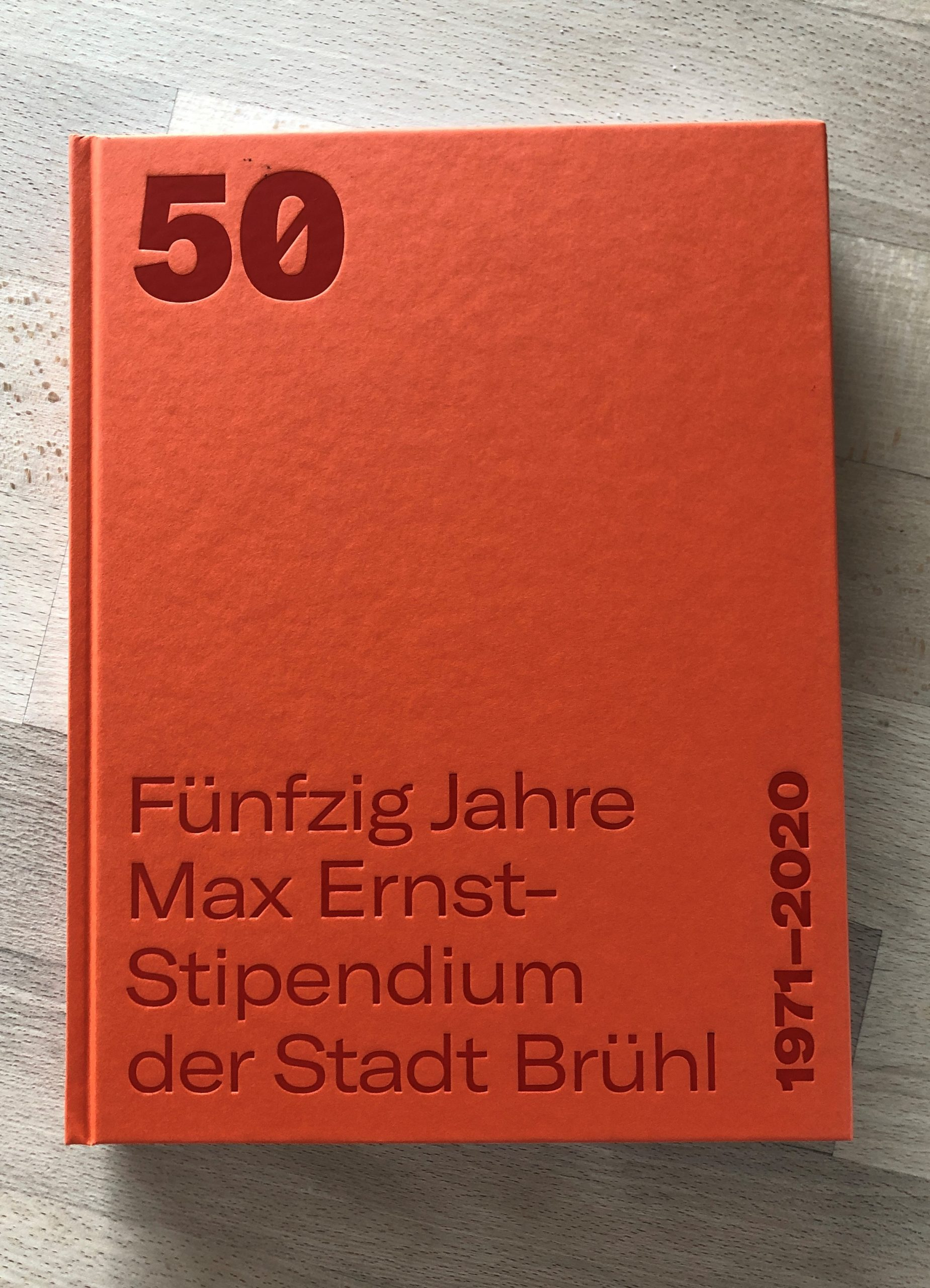 Fuenfzig Jahre Max Ernst Stipendium der Stadt Bruehl