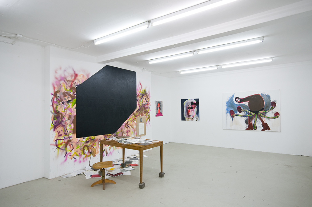 Black Hole/Cube / installation view