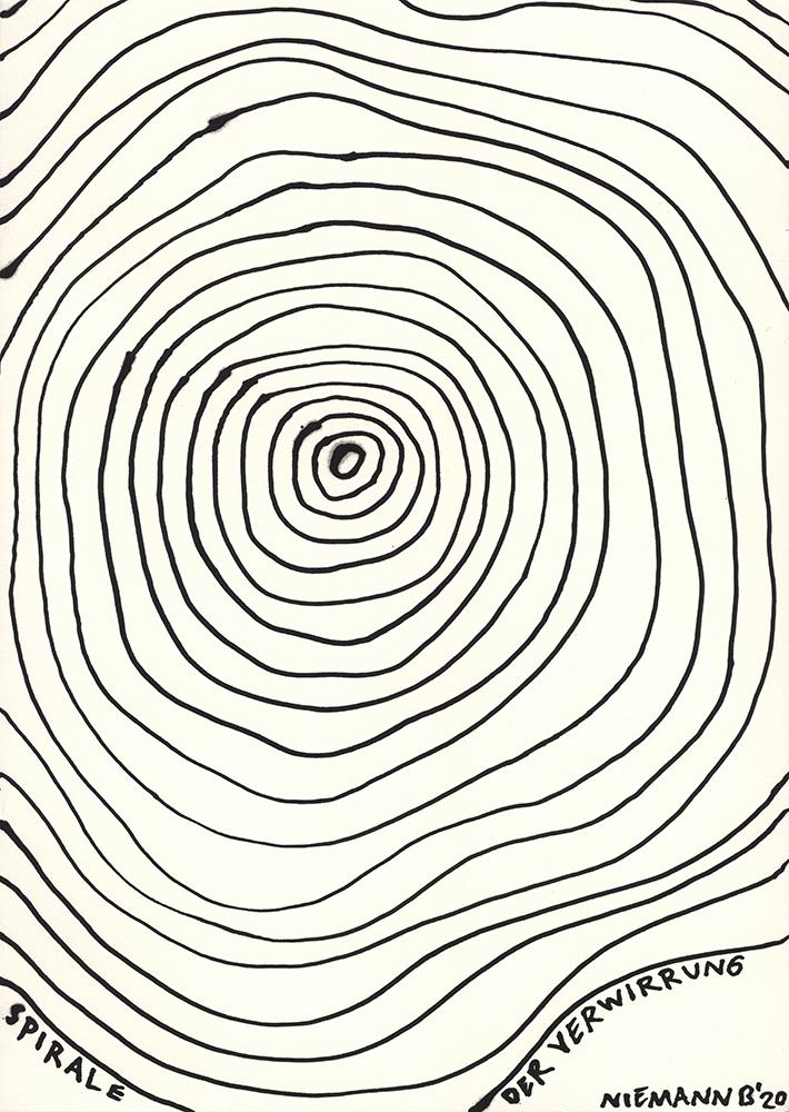 SPIRALE DER VERWIRRUNG / spiral of confusion